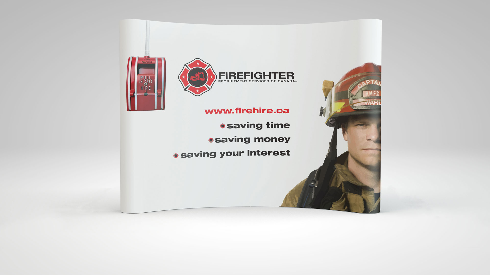 Firefighter – Tradeshow Display