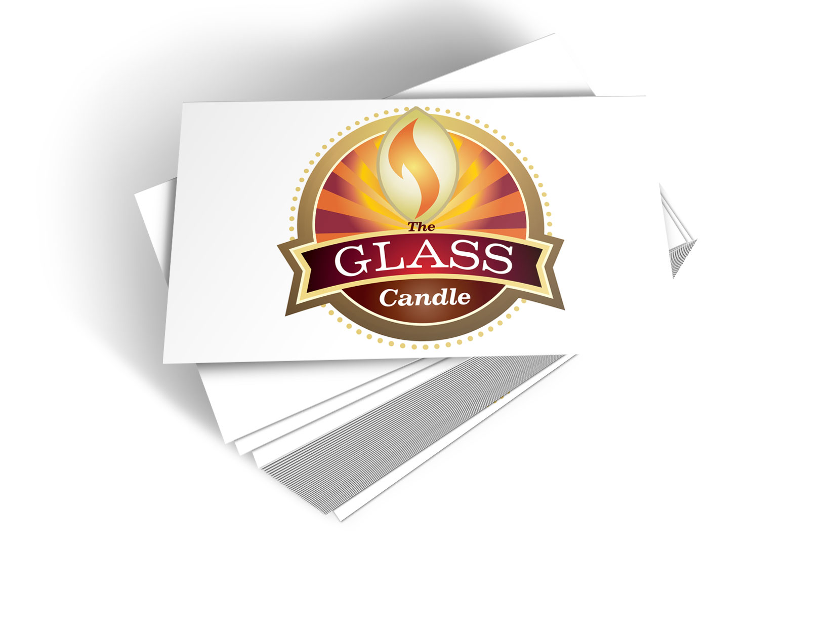 The Glass Candle – Branding