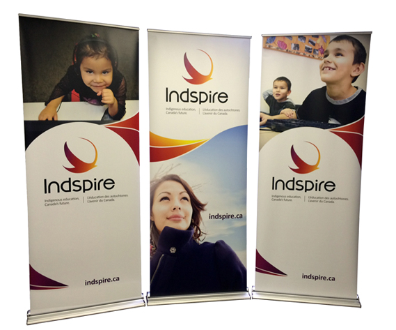 Indspire banners