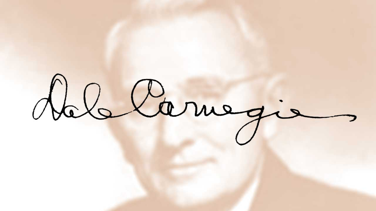 Lessons from Dale Carnegie